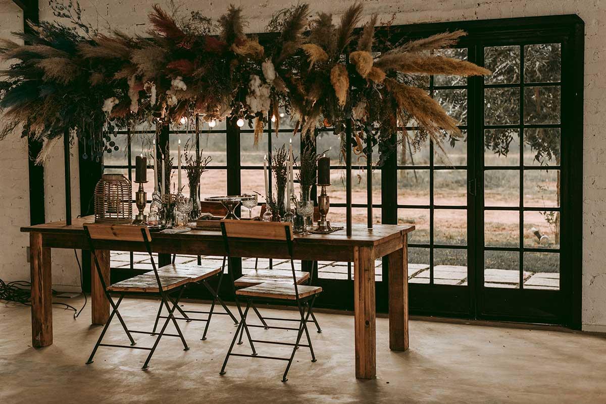 Eco Friendly Wedding styled shoot at The Nut farm