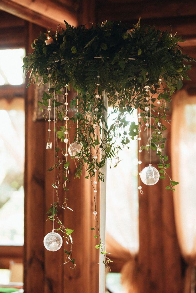 lighting can elevate any farm wedding