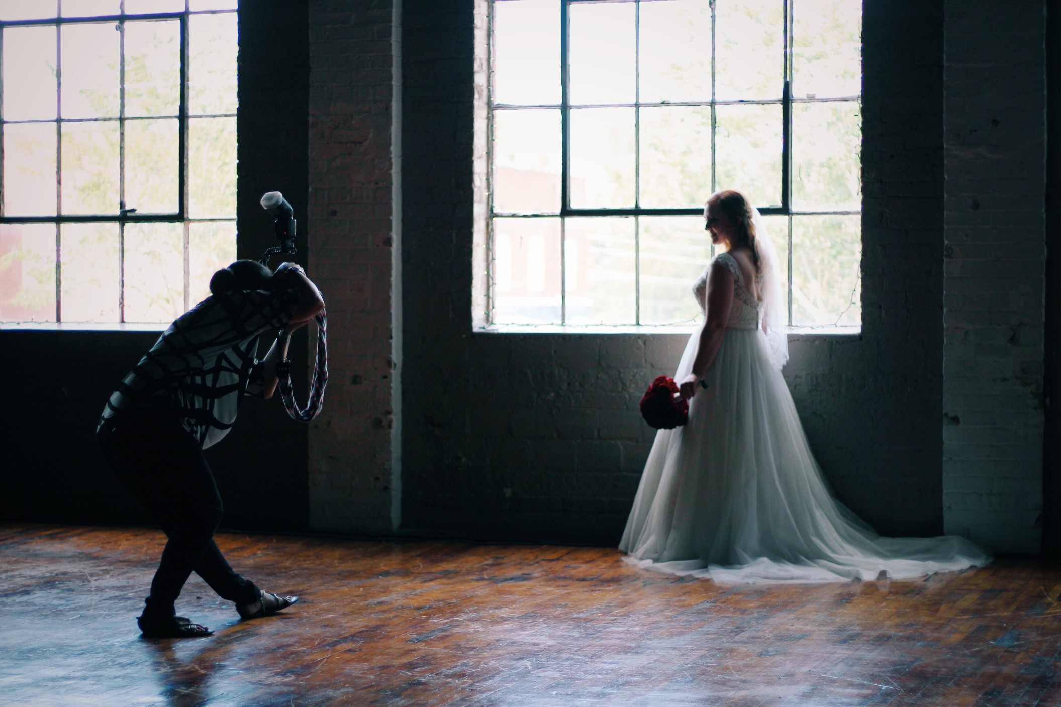 Wedding Photos and How Light can get stunning effects