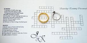 Crossword puzzle Proposal Idee