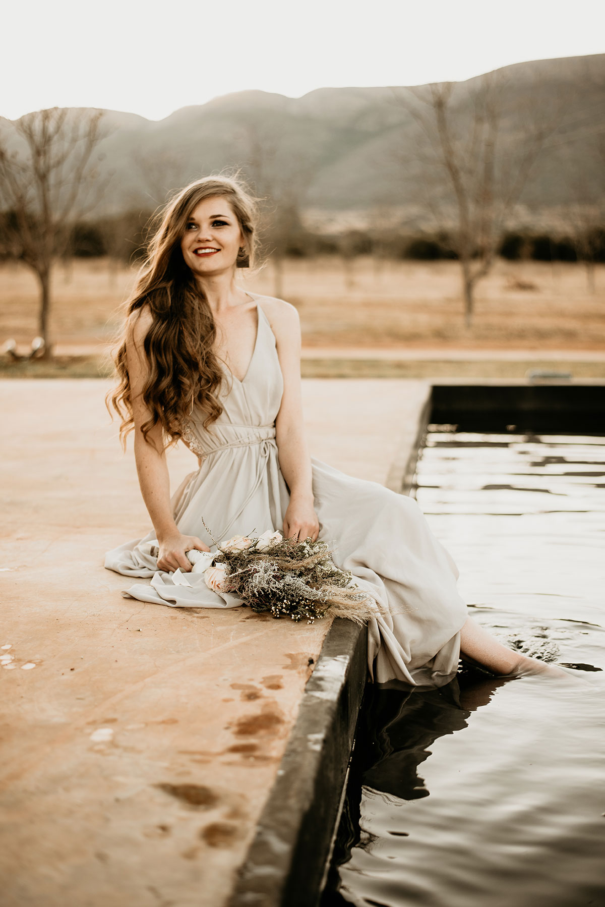 Playing in the Water at The Nut Farm Venue by Echo Photography