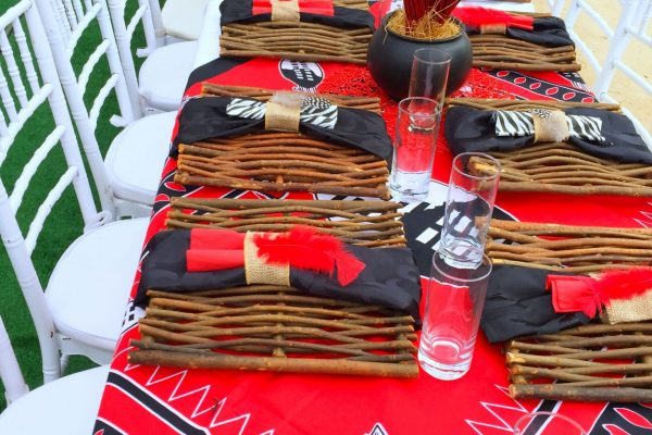 Swazi Traditional Wedding Décor
